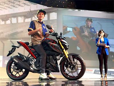 Yamaha Xabre hadir dengan Suspensi Up Side Down