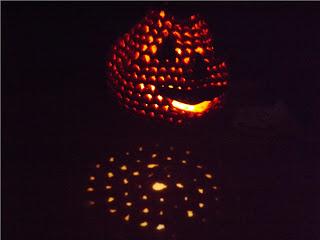 farol-calabaza para halloween de crochet