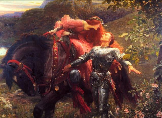 la belle dame sans merci, femme fatale,poem