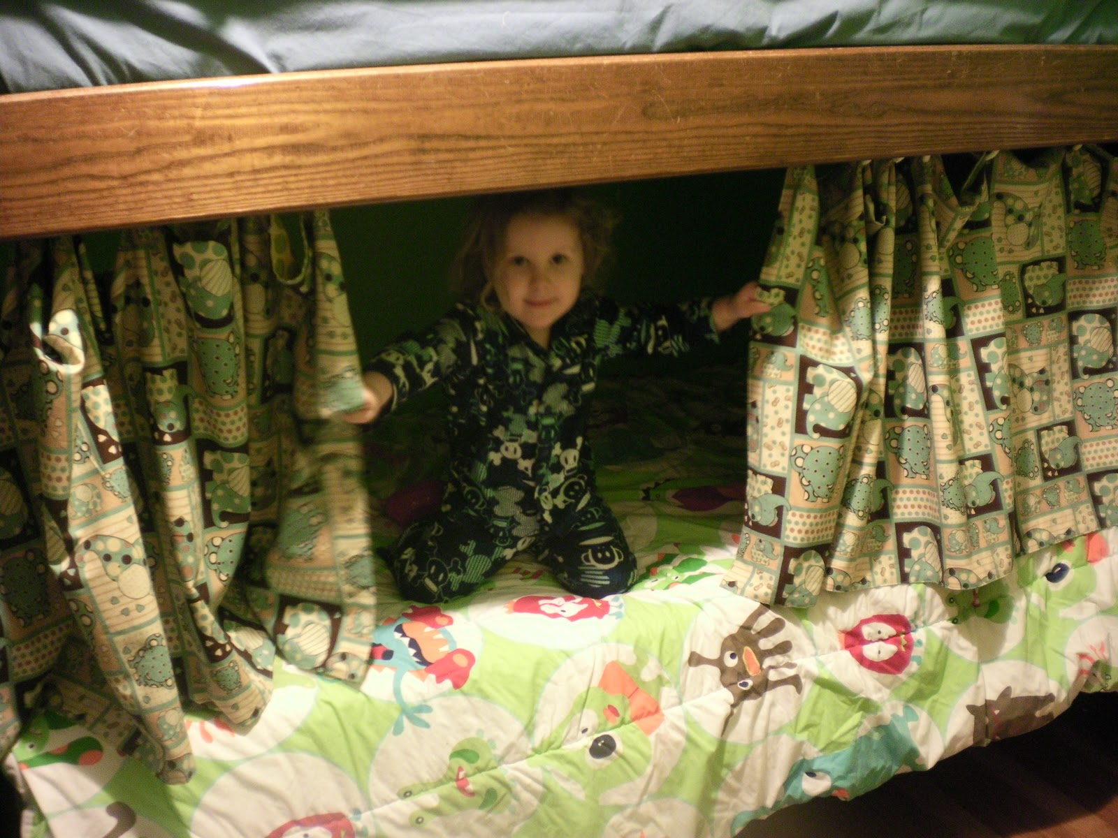 Bunk bed curtains how cool is that life with girls