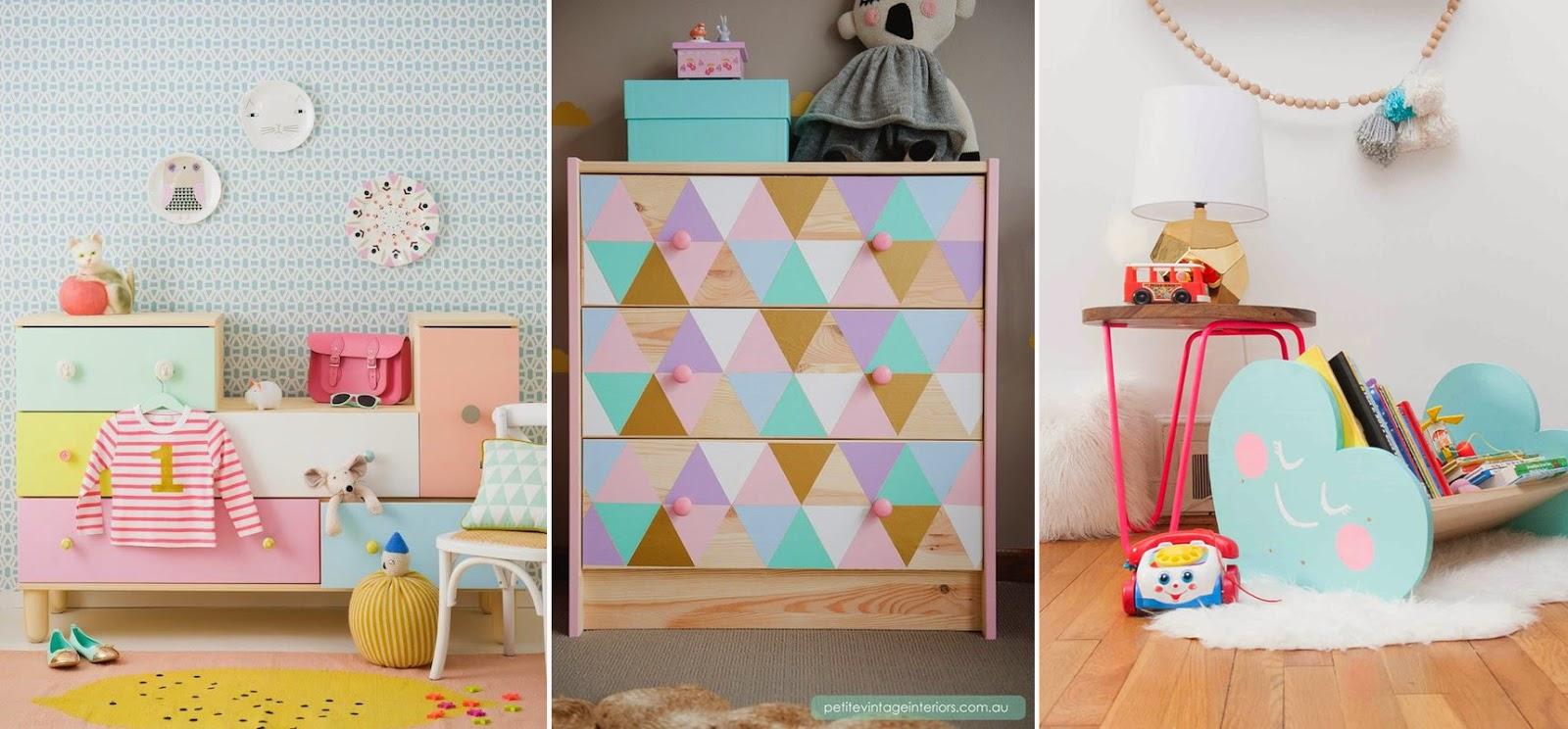 9 Ideas para intervenir muebles infantiles | Más Chicos