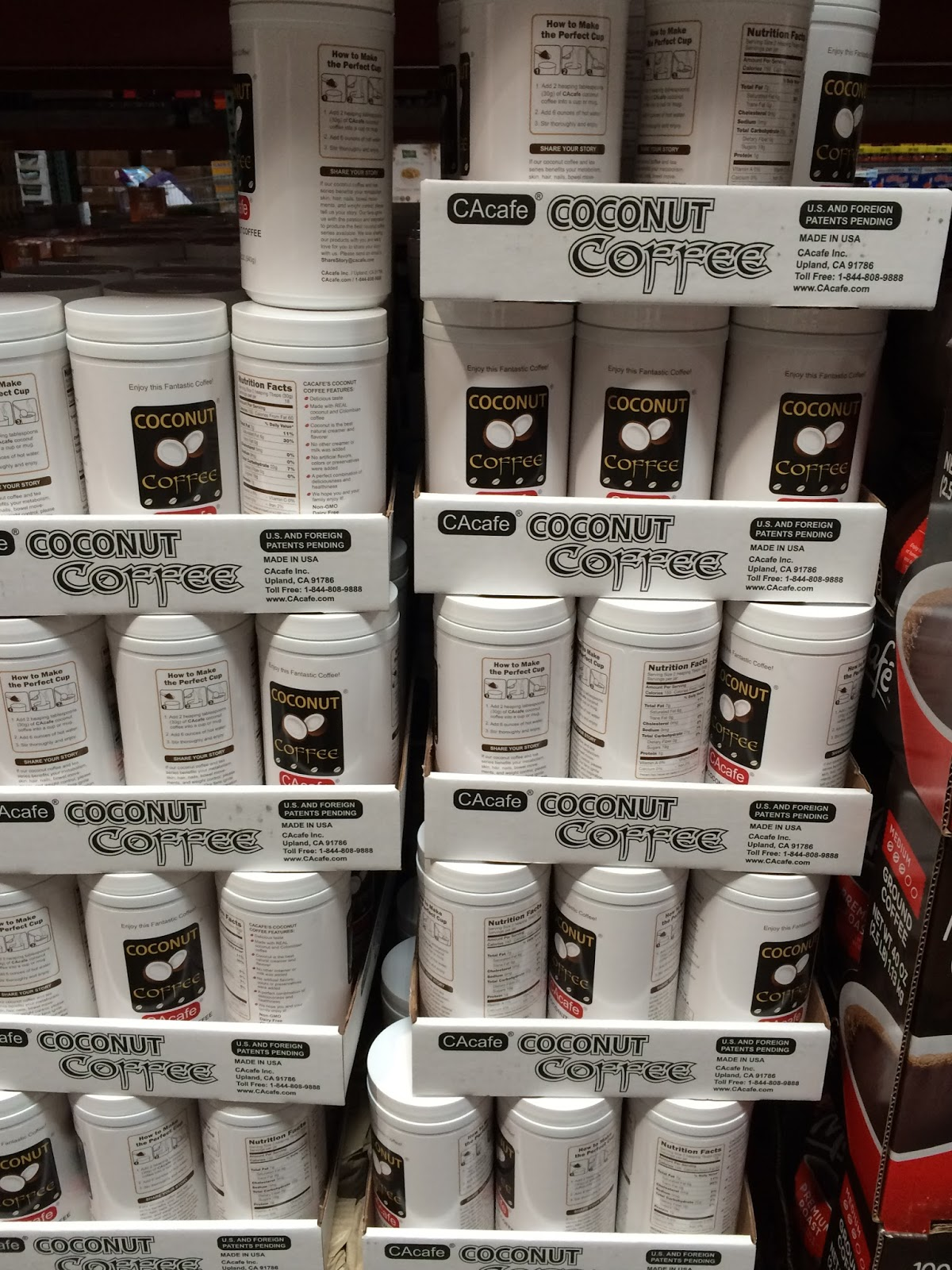 If you like coconut, then you'll enjoy CAcafe Coconut Coffee