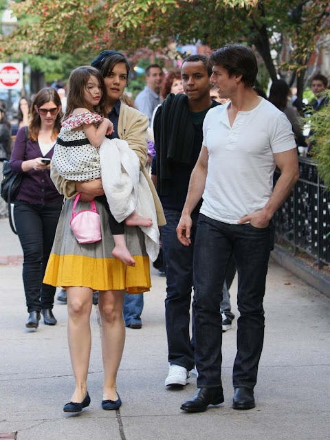 Tom Cruise with family