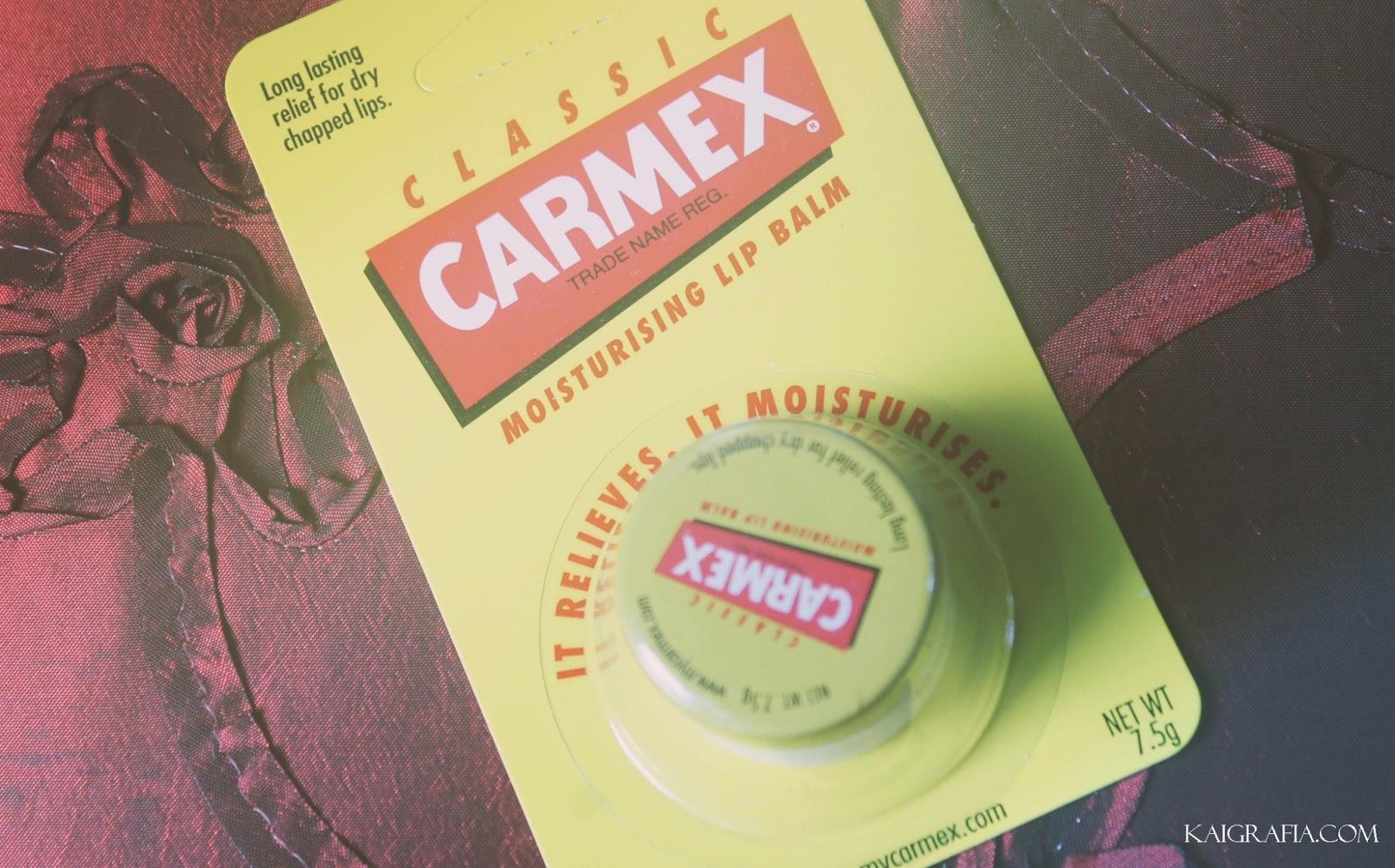 Carmex Lip Balm Jar