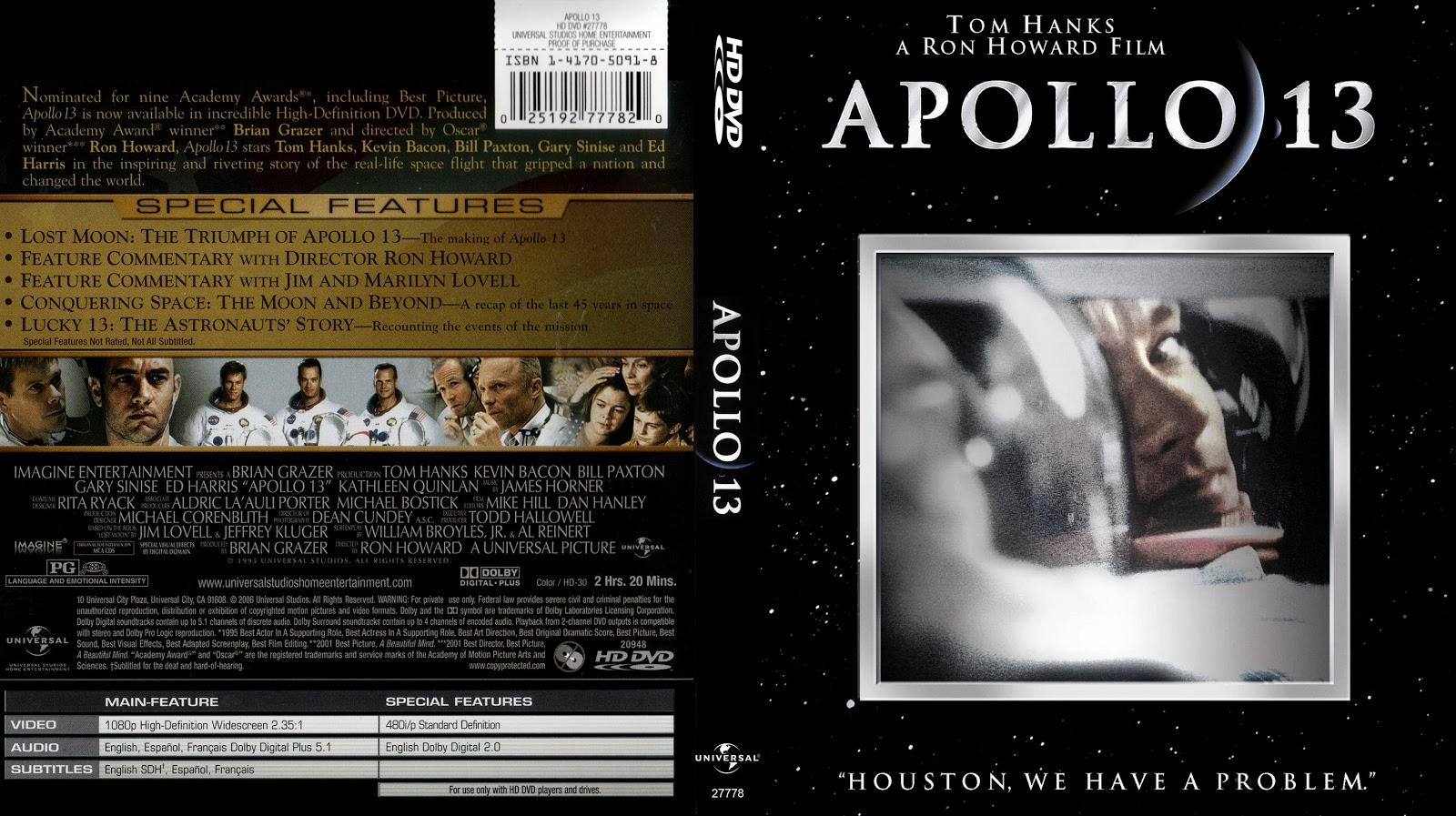 Capa HD DVD Apollo 13
