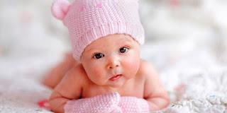 Foto Bayi Lucu Imut Usia 3 Bulan