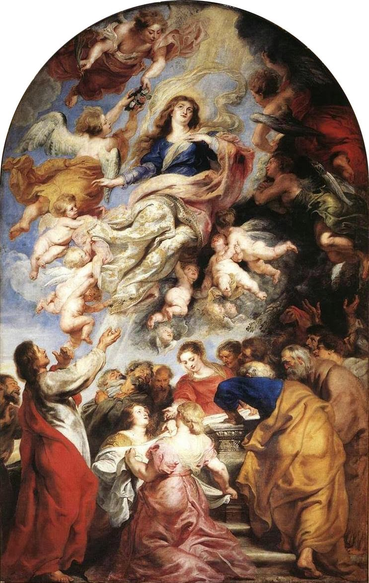 """Picture of """"Assumption of the Virgin Mary"""" by Peter Paul Rubens, 1626"""