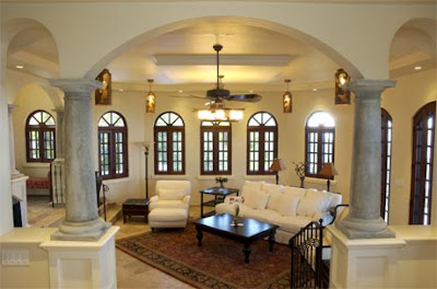 Great Room Columns