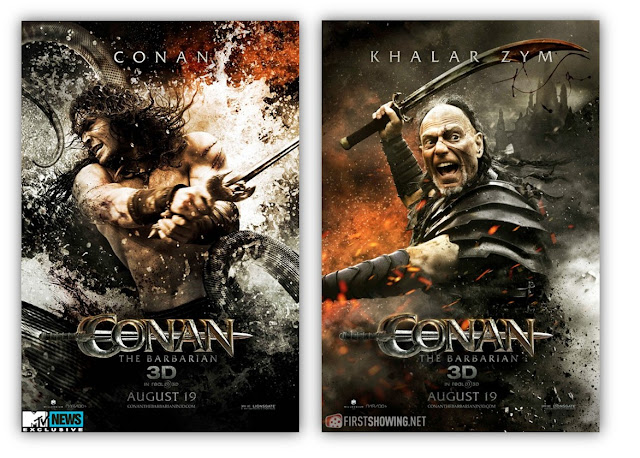 Download Hot-Sexy Poster of Movie Conan The Barbarian 3D in Hindi at Blogspot