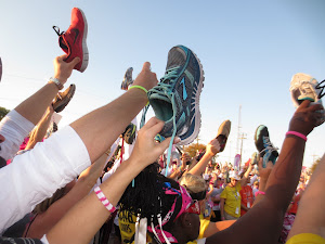 Click on the shoes to donate to the 3-day in 2013!