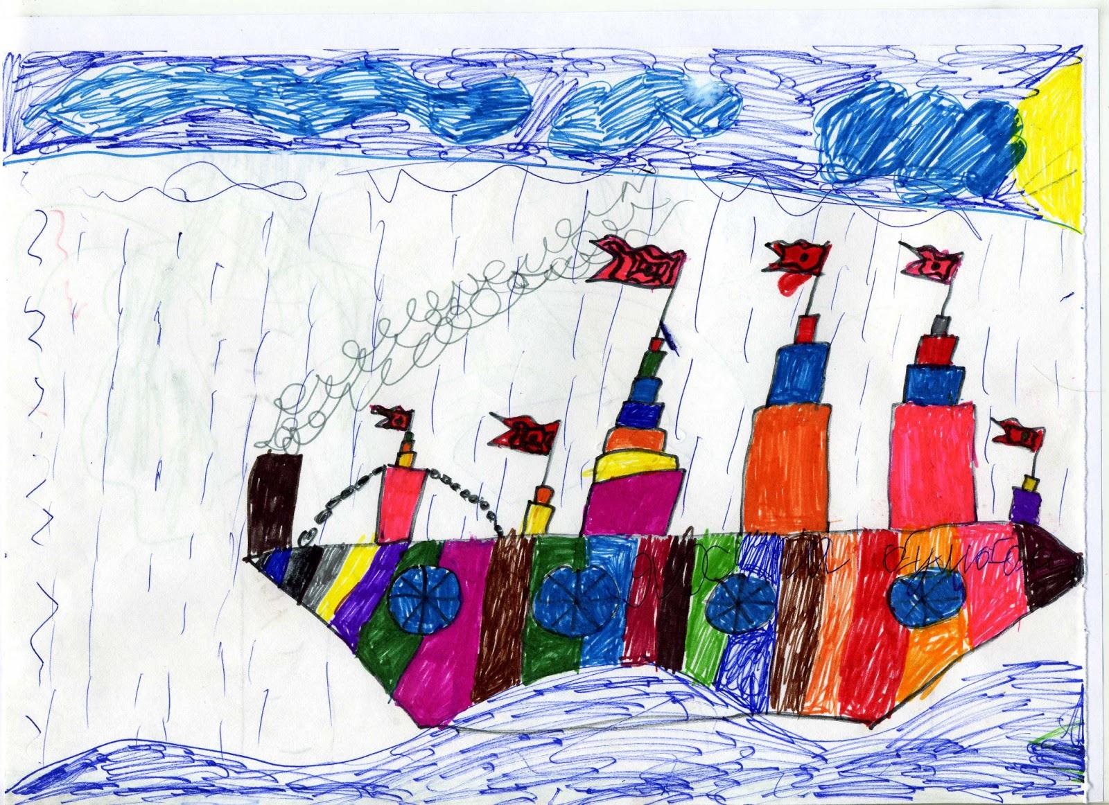 моряки отправляются в плавание