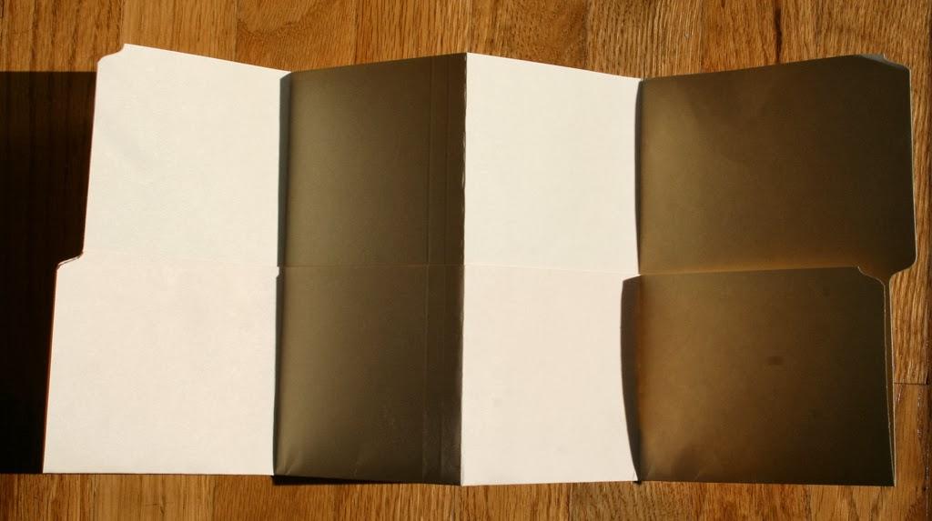 My Creative Scrapbook How To Make A Mini Album Using Manila File Folder By Kristin Greenwood