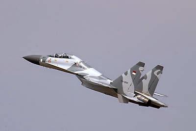 Jajal Jet Tempur Kapolri dan KSAD Kemudikan Sendiri Sukhoi SU-30 MK2