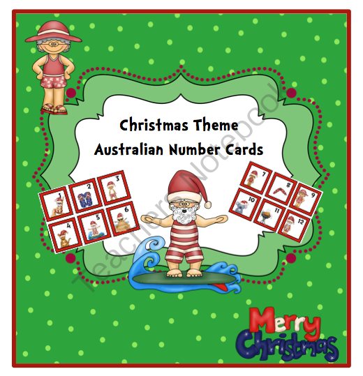 Number Cards 1 50 Christmas | New Calendar Template Site