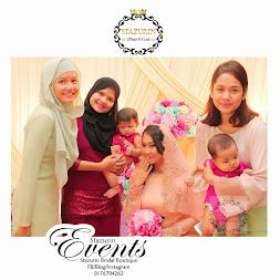 Majlis Pertunangan Aktor Kacak Zul Huzaimy dan Gadis Cantik Erna Cousin Liyana Jasmay