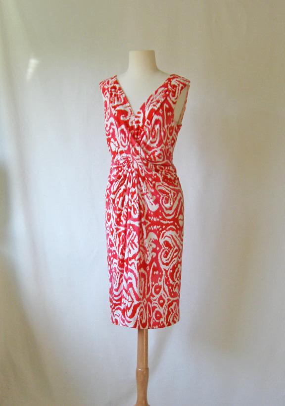 Sunnygal Studio Sewing Vogue 1191 Michael Kors Twist Front Knit Dress