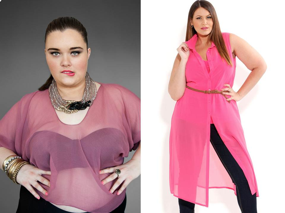 Plus size clothing, plus size fashion, Gisela Ramirez