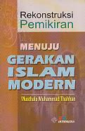 toko buku rahma: buku rekontruksi pemikiran menuju gerakan islam modern, pengarang musthafa muhammad thahhan, penerbit intermedia