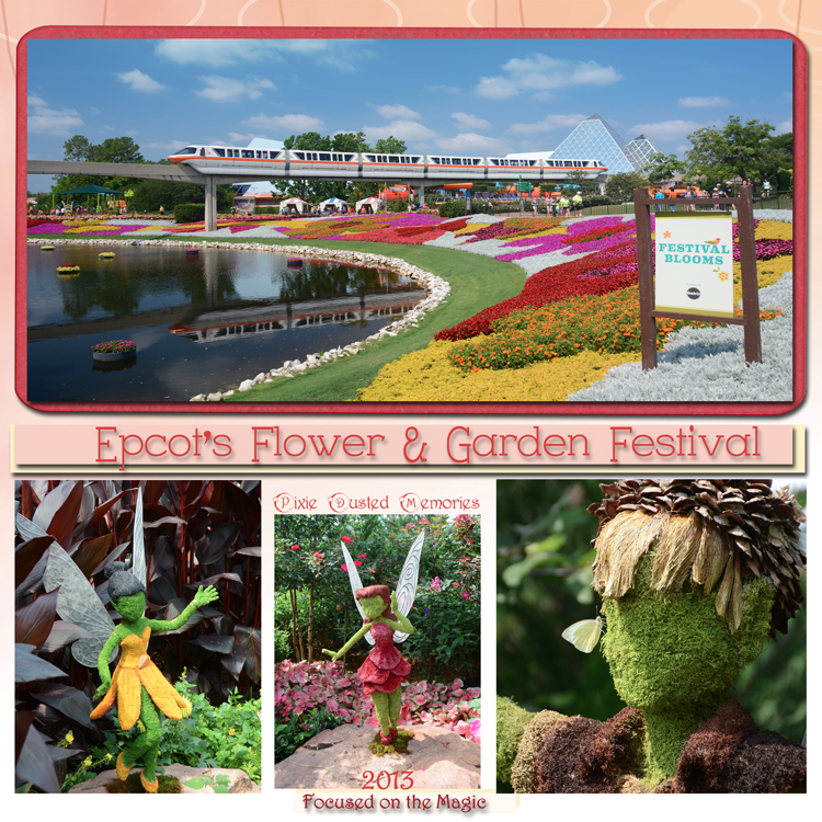 2013 Epcot International Flower & Garden Festival