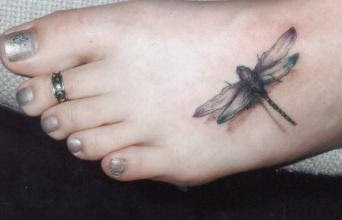 20 Beautiful Vine Dragonfly Tattoos Ideas And Designs