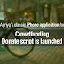 Agriya has launched amazing iPhone app for Crowdfunding donate