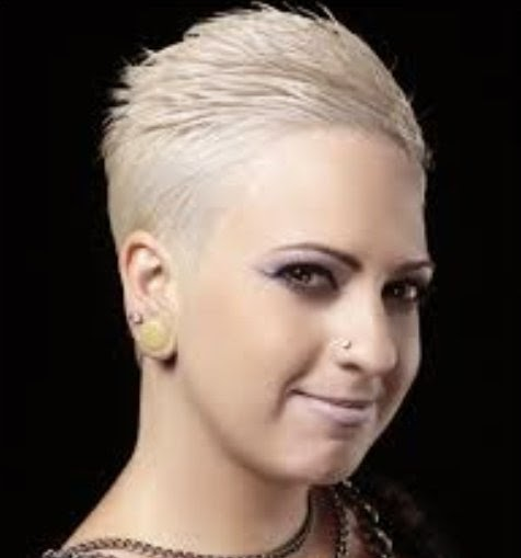 Indifferent Shaved Hairstyles Women