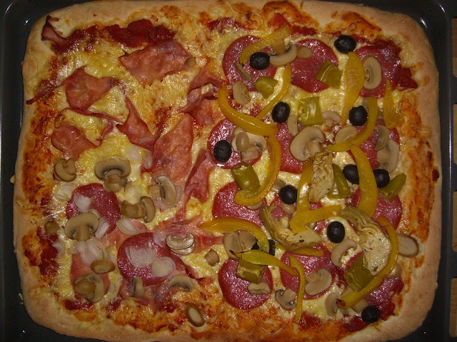 Pizza, homemade