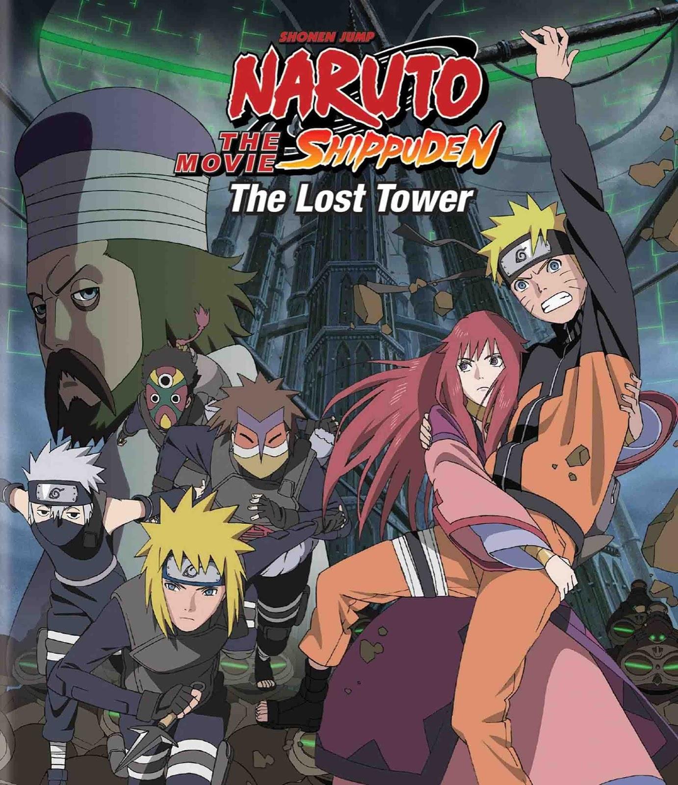 Naruto Shippuden Filme 4: Torre Perdida Torrent - Blu-ray Rip 1080p Legendado (2010)