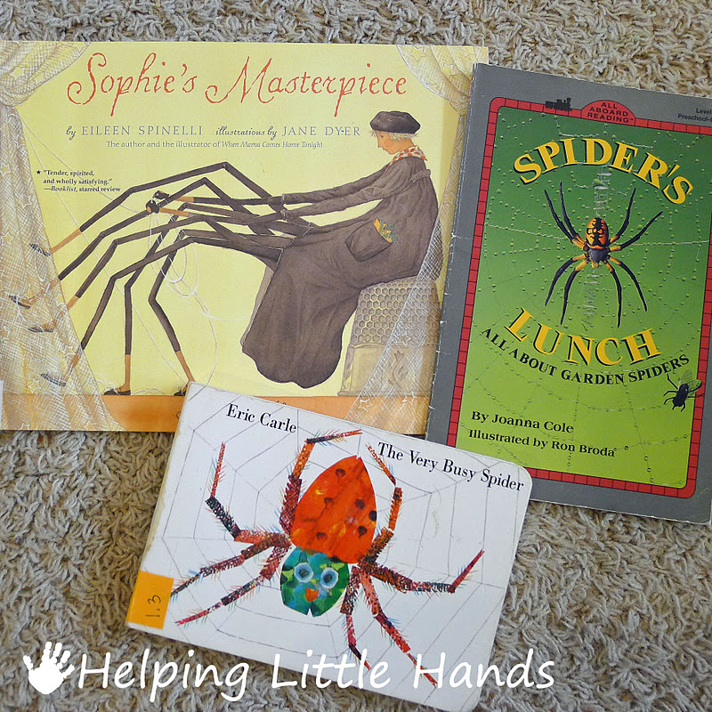Pieces by polly 5 minute pudding spider webs and favorite spider pieces by polly 5 minute pudding spider webs and favorite spider books sciox Gallery