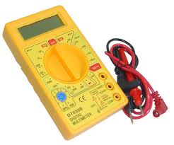 Uso del multimetro para electromecanico
