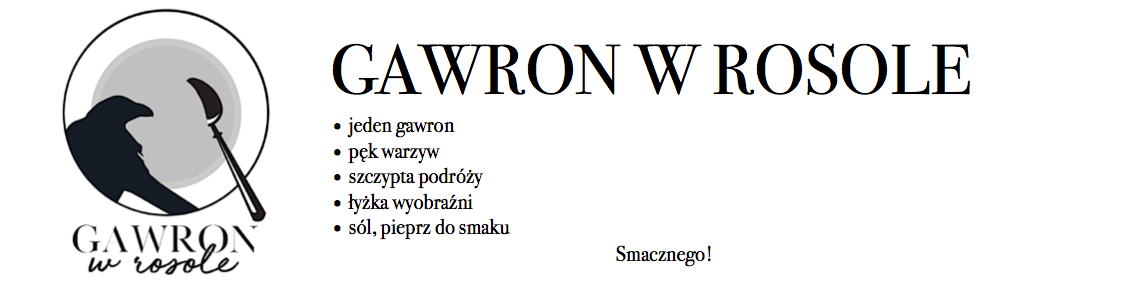 Gawron w rosole.