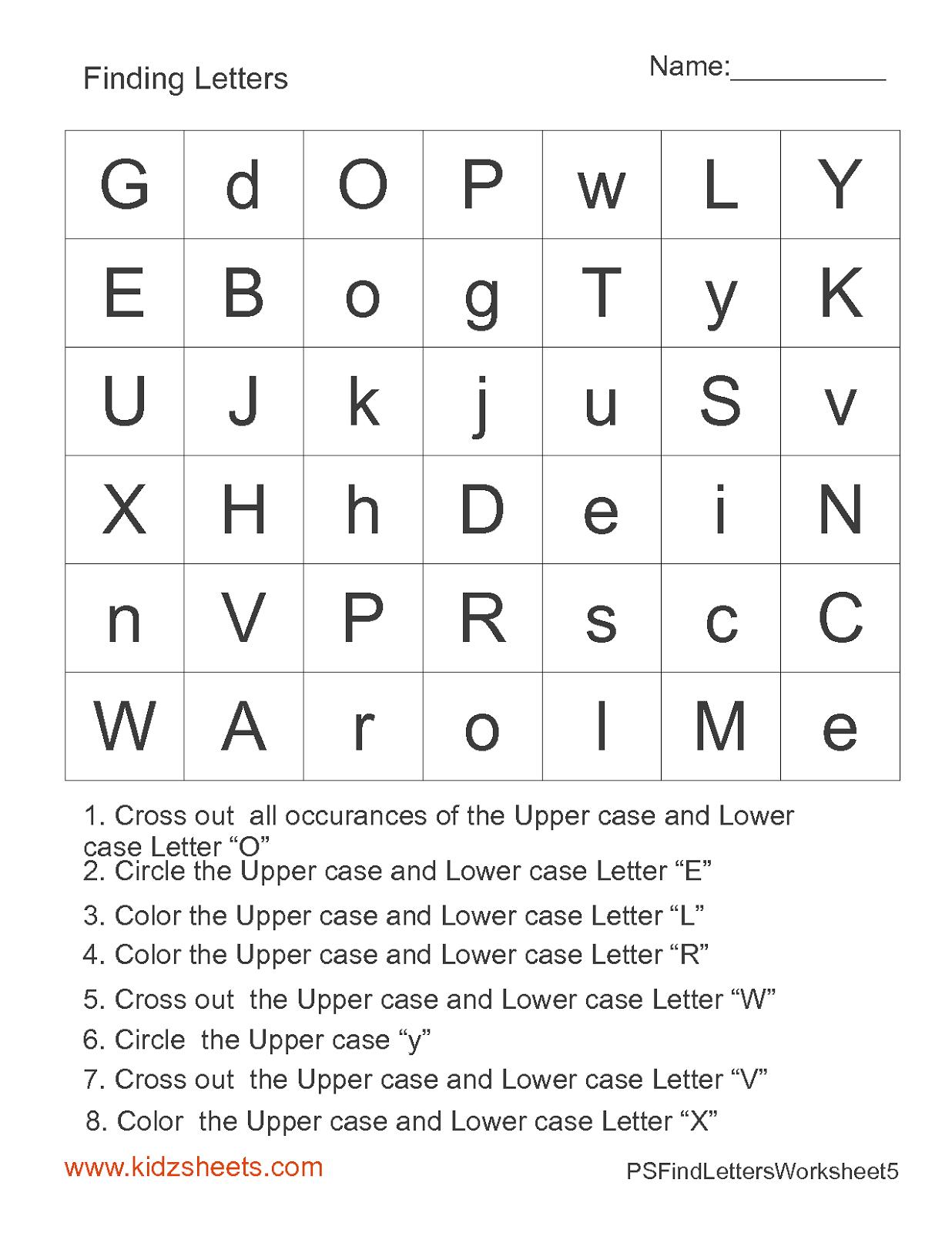 Free Printable Preschool Worksheets, Free Worksheets, Kids Maths ...