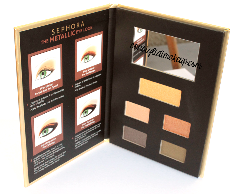 recensione 4 eye look books sephora swatches