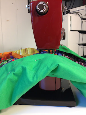 Make quilting easier on your home machine
