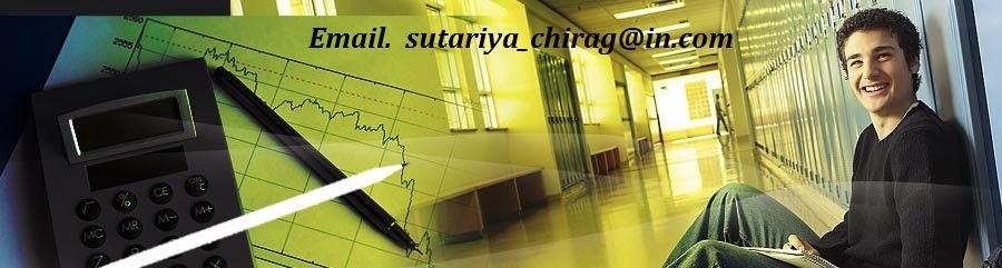શૈક્ષણિક માહિતી sutariya chirag