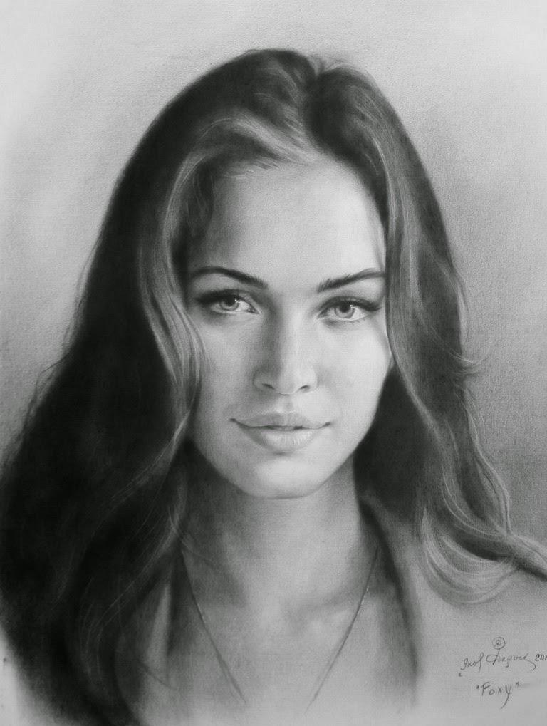 mujeres-bellas-pintadas-con-lapiz