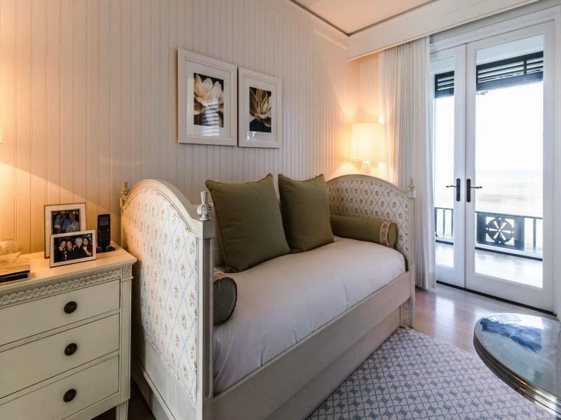 Sofa in Custom built celebrity home for Celine Dion