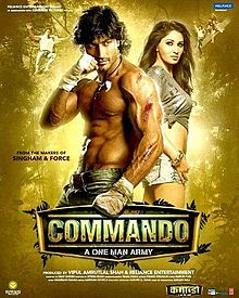 Commando (2013) Movie Poster
