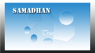 samadhan means bliss of peace image picture