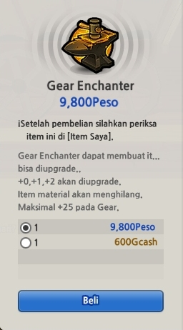 Gear+Enchanter Tips dan Trik Enchant Gear di Lost Saga