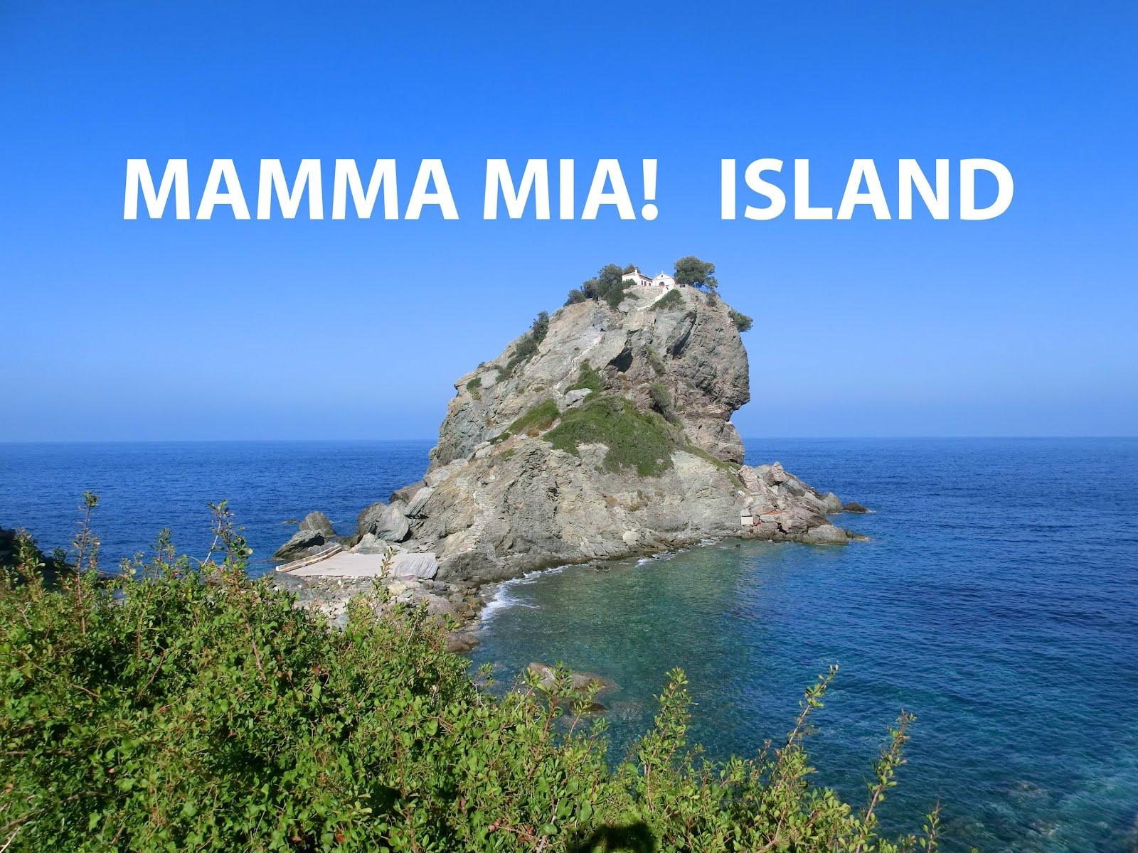 Holiday Mamma Mia Island -- Skopelos
