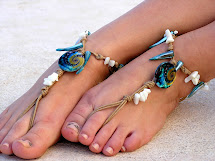 Barefoot Sandals Foot Jewelry Beach