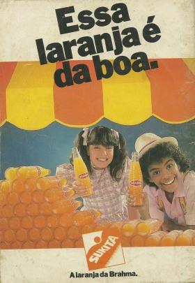 Propaganda da Sukita em 1988 com Jairzinho e Simony