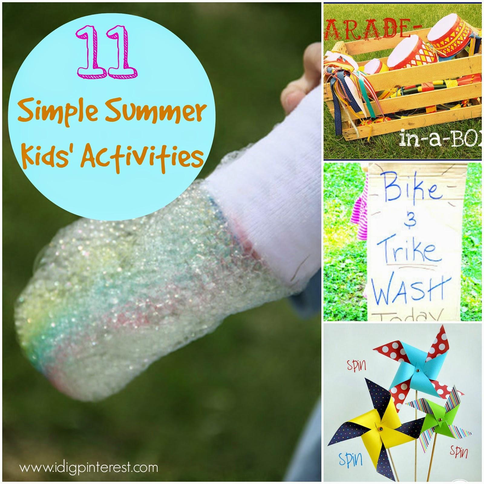 Ideas Campamento de Verano para Niños ()