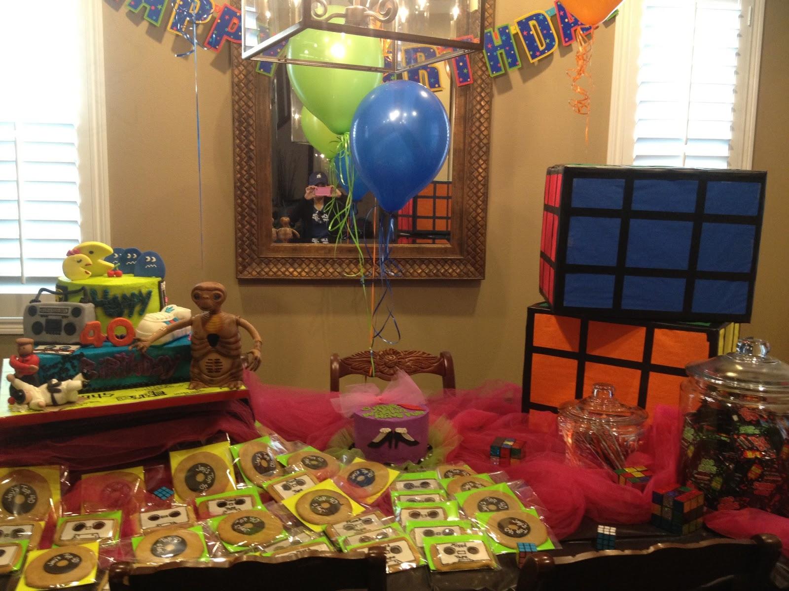 Three crafty cousins diy rubix cubes 80 39 s theme for 80s decoration ideas
