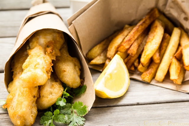 Fish and Chips - Receta original paso a paso