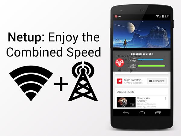 طريقة تشغيل الواي فاي وانترنت شبكات الاتصال 3G معاً