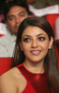 Actress Kajal Agarwal Latest Pictures in Long Dress at Temper Movie Audio Launch Function  6.jpg