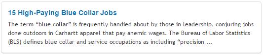 15 High-Paying Blue Collar Jobs