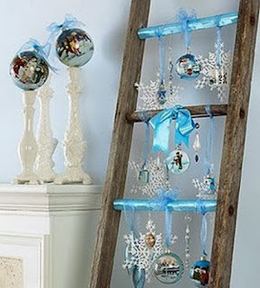 Arboles de Navidad con Escaleras Recicladas